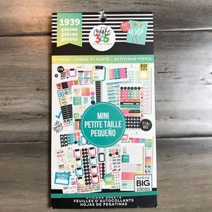 The Happy Planner Fitness Sticker Book - Mini